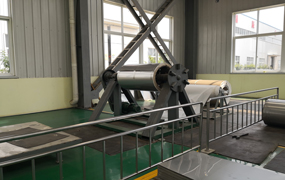 板式热交换机组生产车间