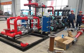 无负压叠压供水设备